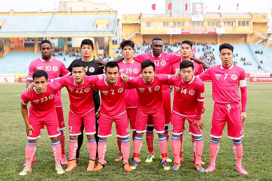 Sài Gòn đang thi đấu rất thất vọng tại mùa giải năm nay.