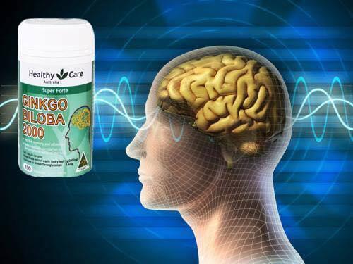 thuốc ginkgo biloba 2000mg của Úc