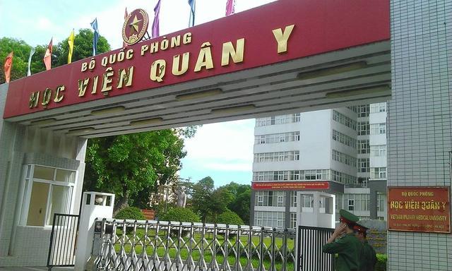 >Điểm chuẩn học viện quân Y năm 2018