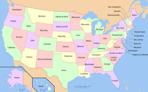 nước mỹ có bao nhiêu bang