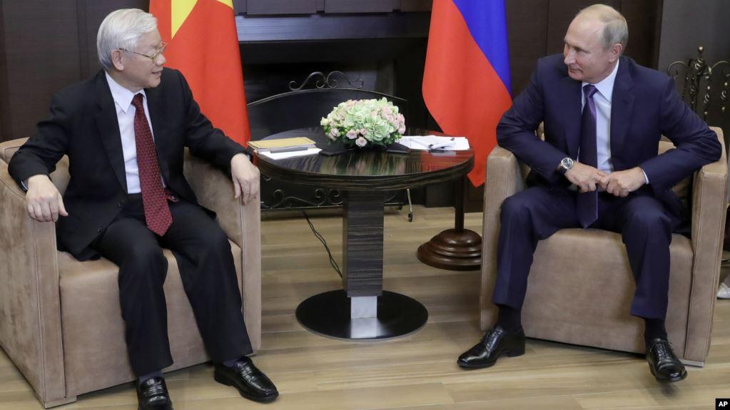 Nước Nga dưới thời tổng thống Putin