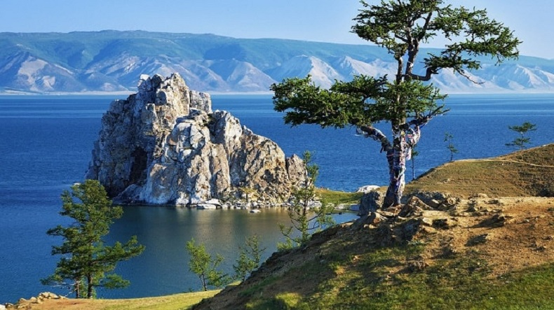 Hồ Baikal - hình ảnh nước Nga xinh đẹp