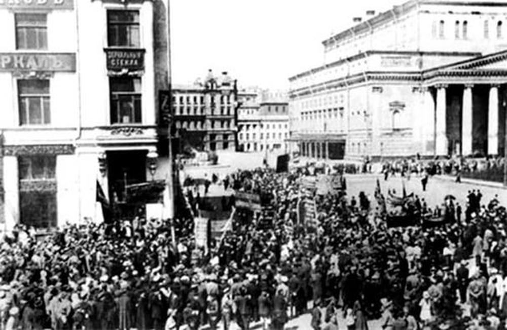 Nước Nga năm 1917 có mấy cuộc cách mạng