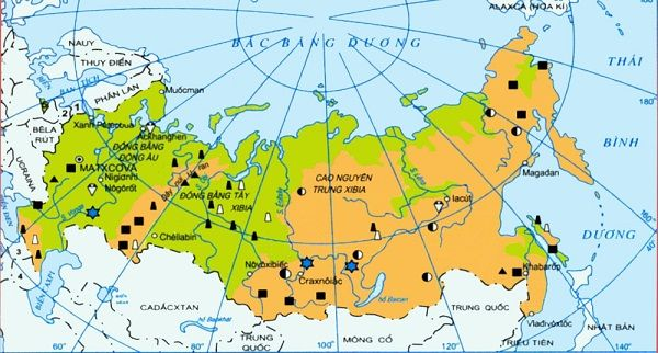 Nước Nga thuộc châu nào?