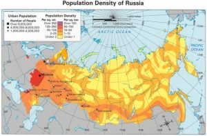 Tại sao nước Nga lại rộng lớn?