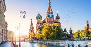 Vị trí địa lý của nước Nga