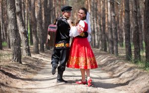 con gái nước Nga